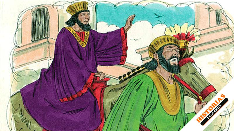 Historia Bíblica de Amán y Mardoqueo