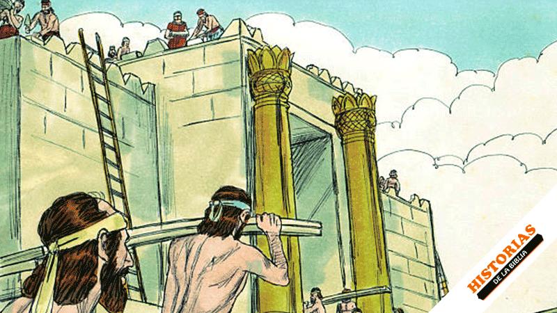 Salomón Construye el Templo de Dios