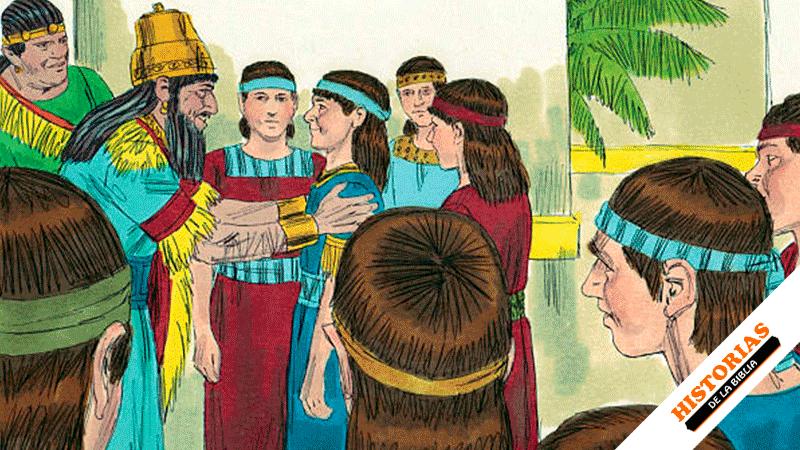 Daniel es llevado cautivo a Babilonia