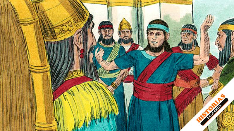 Daniel interpreta el sueño del rey Nabucodonosor