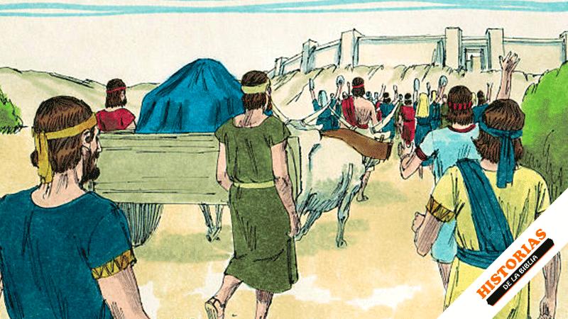 David lleva el Arca a Jesusalén