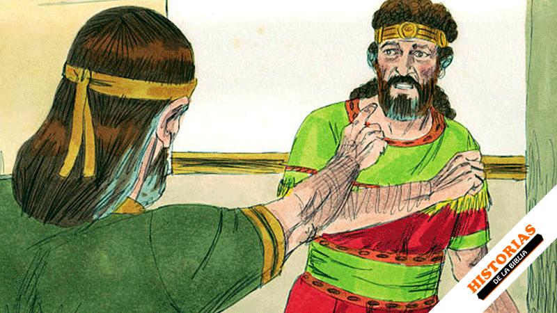 Historia del rey David y el Profeta Natán