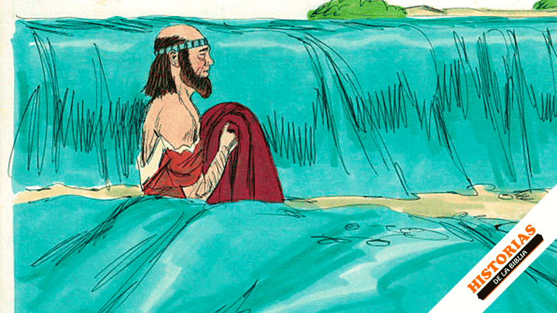 Eliseo Cruza el río Jordán