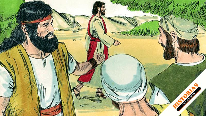 Jesús llama a Felipe y Natanael