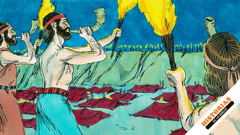 Gedeón Derrota a los Madianitas