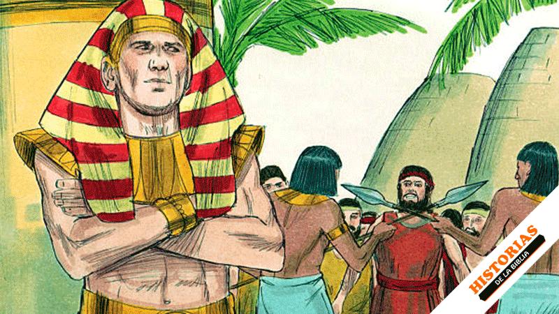 Los Hermanos de José van a Egipto