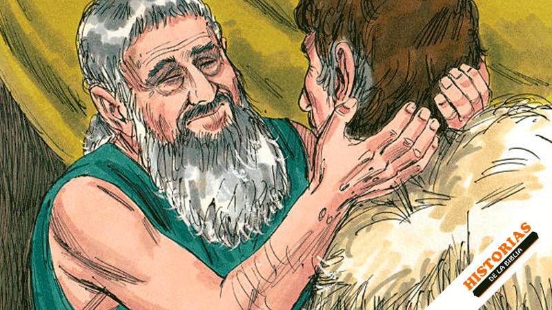 Jacob Obtiene la bendición de Isaac