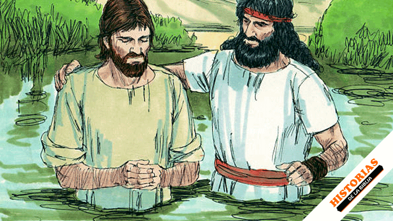 Historia del Bautismo de Jesús