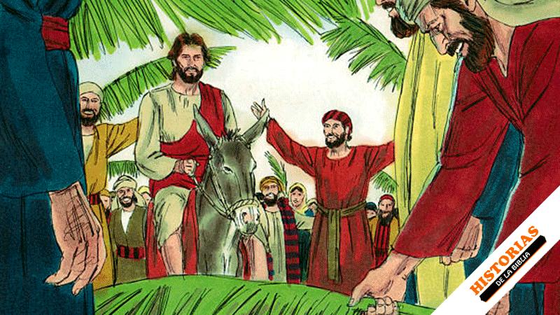la Entrada Triunfal de Jesús a Jerusalén