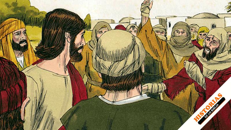 Jesús y los leprosos