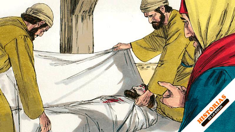 Jesús es Sepultado en el Sepulcro