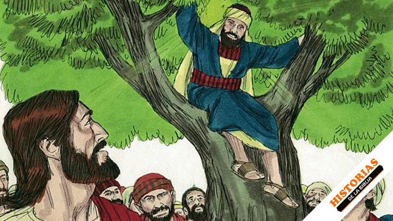 Historia de Jesús y Zaqueo