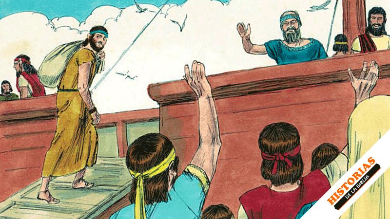Jonás Huye de la Presencia de Dios