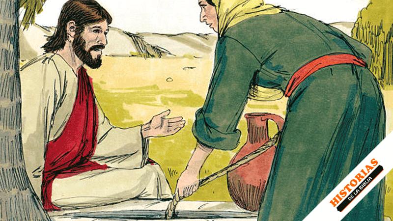 Jesús y la Mujer Samaritana