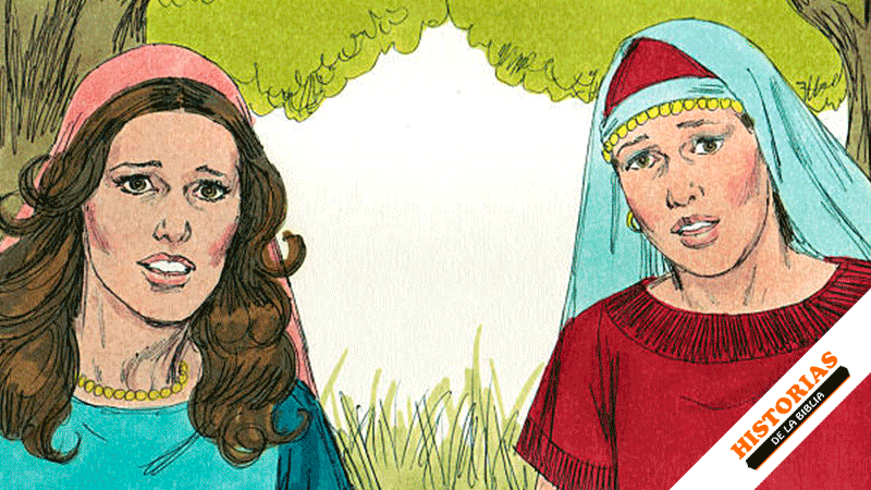 Historia de Rut y Orfa