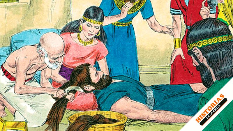Historia de Sansón y Dalila