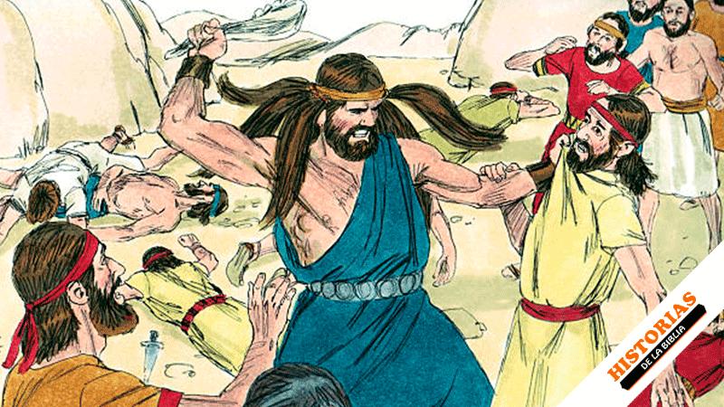 Sansón y los Filisteos