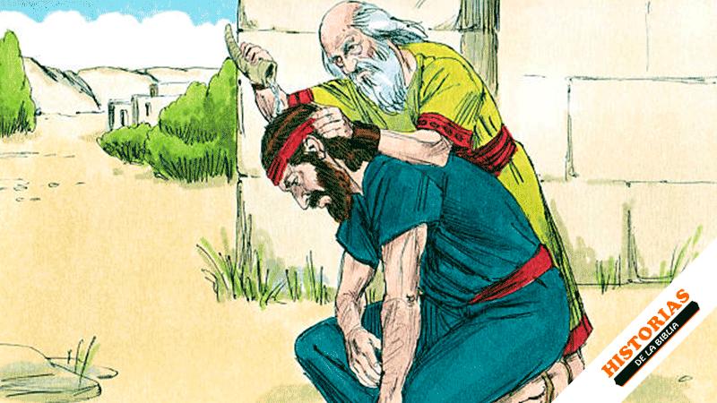 Saúl y el profeta Samuel